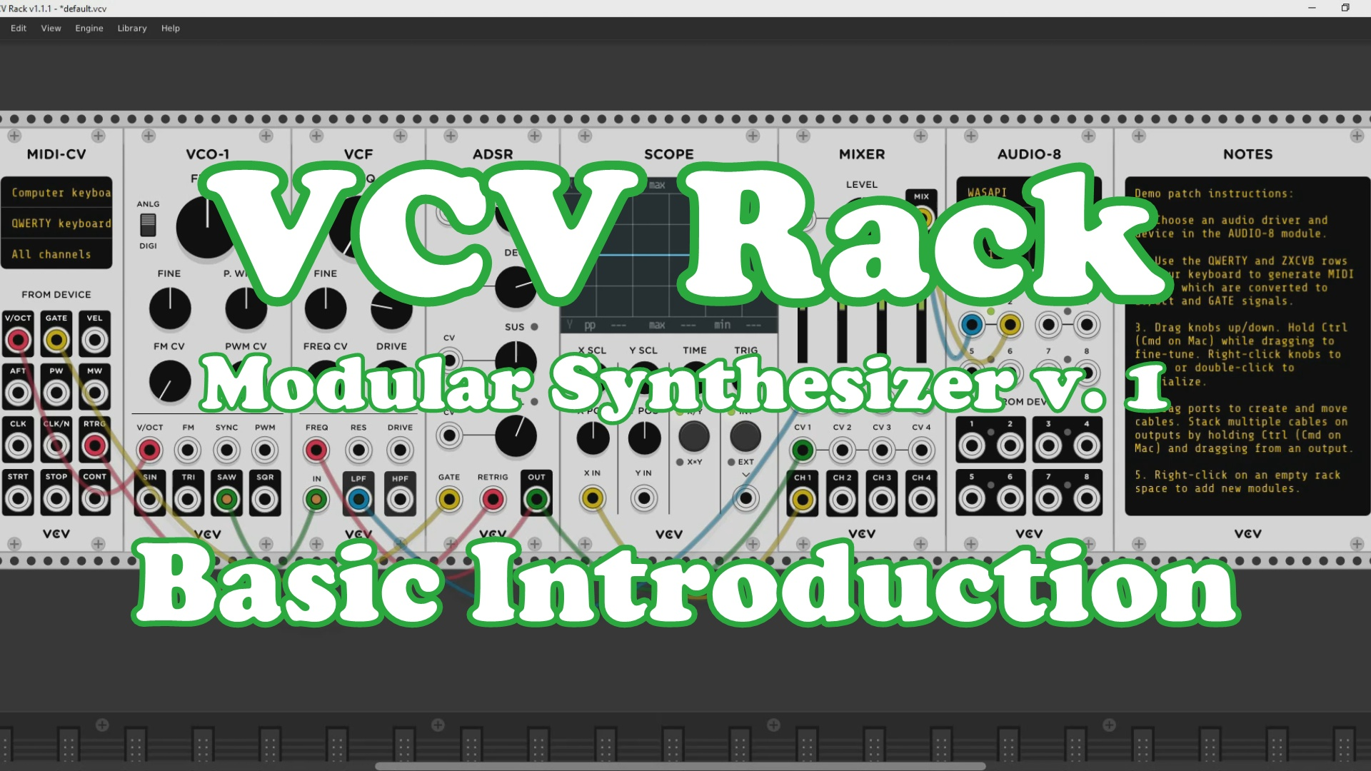 VCVrack screenshot