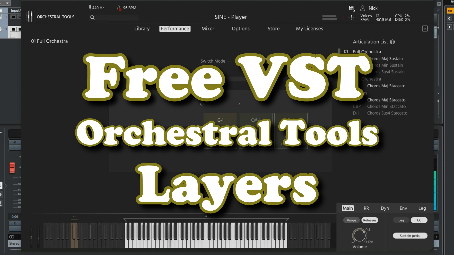Orchestral Tools Layers